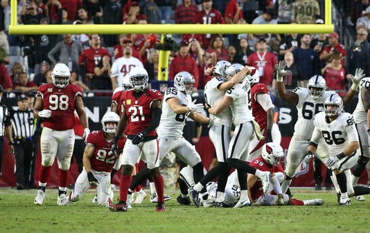 Raiders Vs Cardinals 2018
