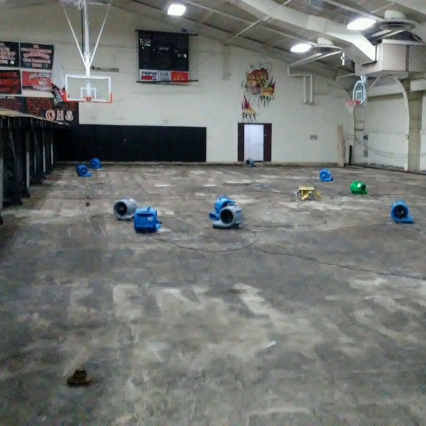 Water leak means Globe High School left without winter home for basketball, wrestling
