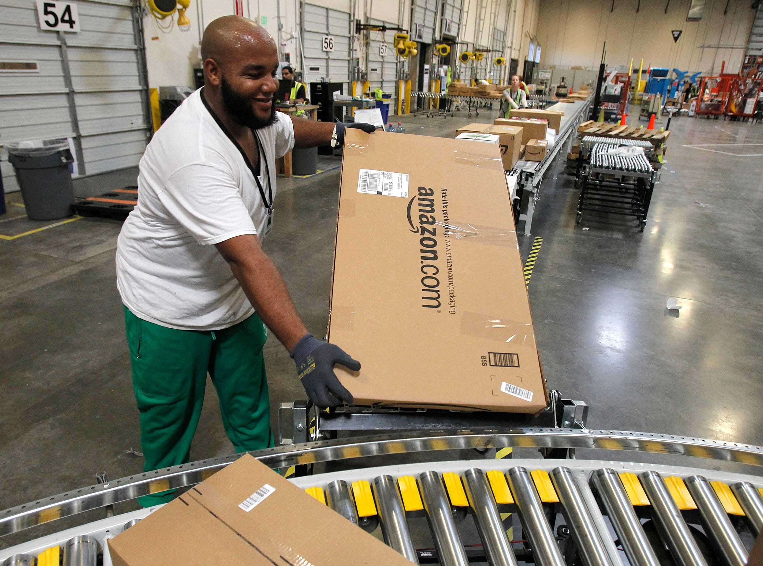 Amazon's fulfillment center in Goodyear is the city's fourth-largest employer, with 980 employees.