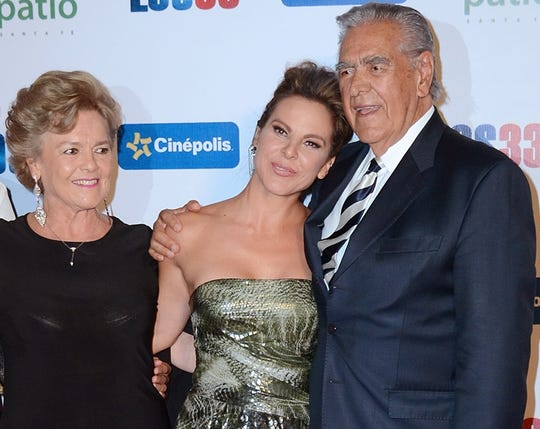 Kate siempre ha estado muy apoyada por su familia.