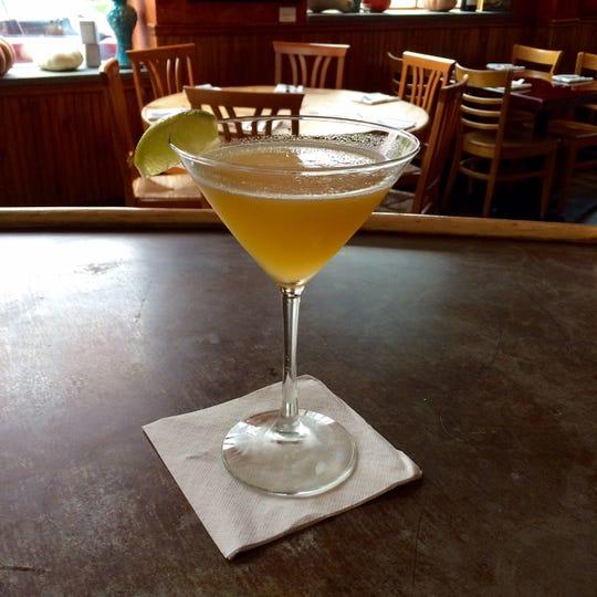 Creative cocktails, such as this Pumpkin Daiquiri, can be found at Gigi Trattoria in Rhinebeck.