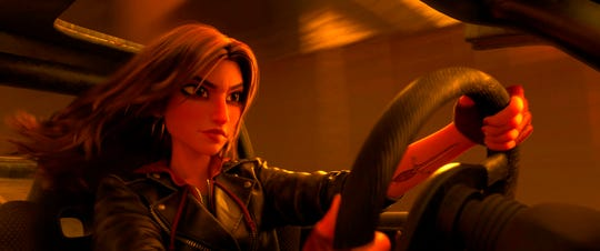 """Shank, voiced by Gal Gadot, in a scene from """"Ralph Breaks the Internet.""""  The movie opens Nov. 20 at Regal West Manchester Stadium 13 and R/C Hanover Movies."""