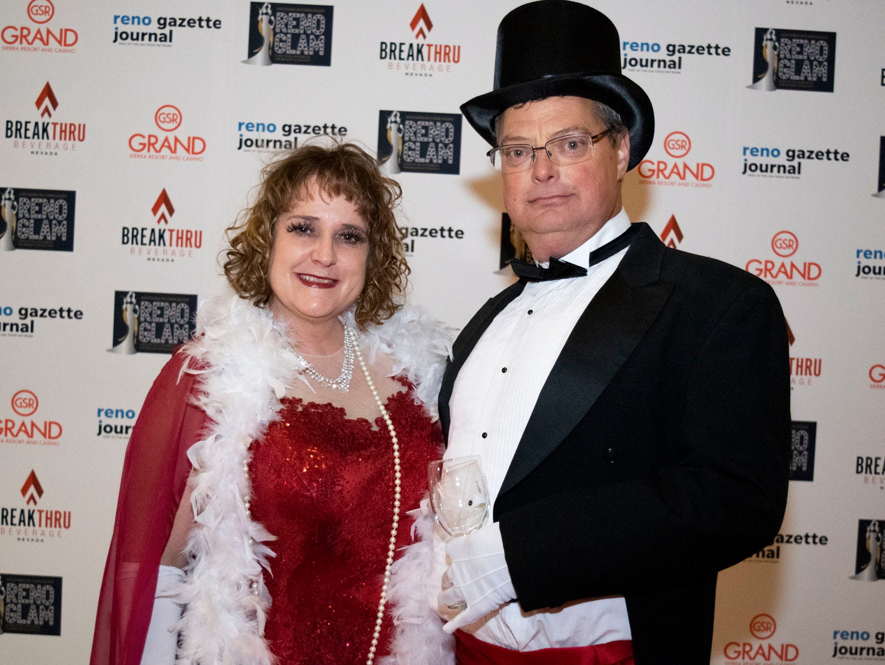 It's all glitz and glamour at this year's Fantasies in Chocolate Gala at the Grand Sierra Resort on Nov. 17, 2018. Reno, Nev.