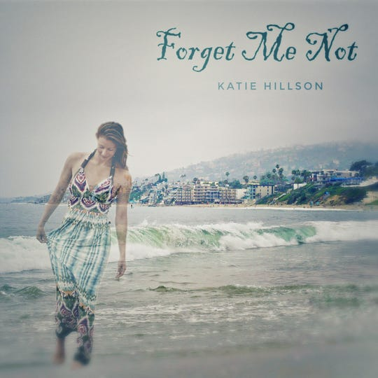 The cover art for Katie Hillson's album. She designed the cover.