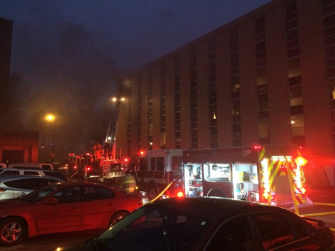 Richmond firefighters on Monday, Nov. 19, 2018, were called to a fire at Interfaith Apartments.