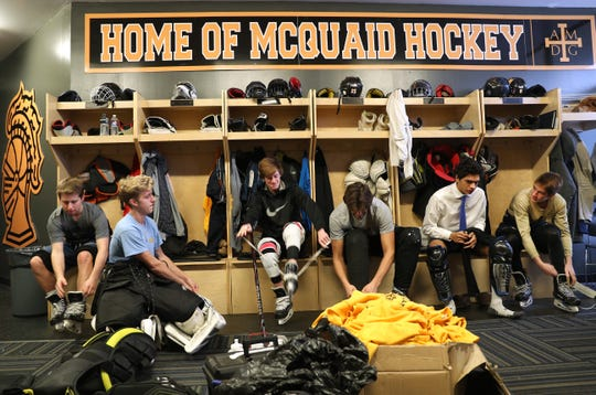 The McQuaid hockey team has rallied around one of its own by raising money to offset costs for teammate Cooper Petrone's care. Cooper was diagnosed with Non-Hodgkin's lymphoma and is being treated in a Buffalo hospital.