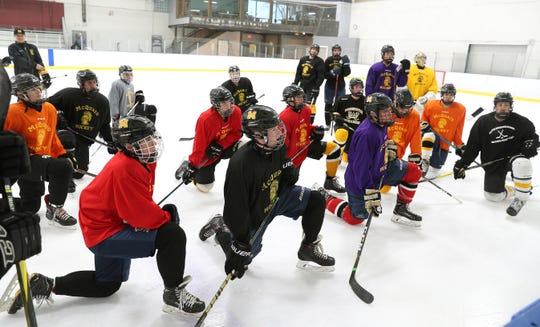 The McQuaid hockey team has rallied around one its own raising money to offset costs for teammate Cooper Petrone's care. Cooper was diagnosed with Non-Hodgkin's lymphoma and is being treated in a Buffalo hospital.
