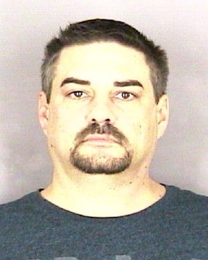 David Calame, 42, is being held on a $100,000 bond following several sexual abuse charges.
