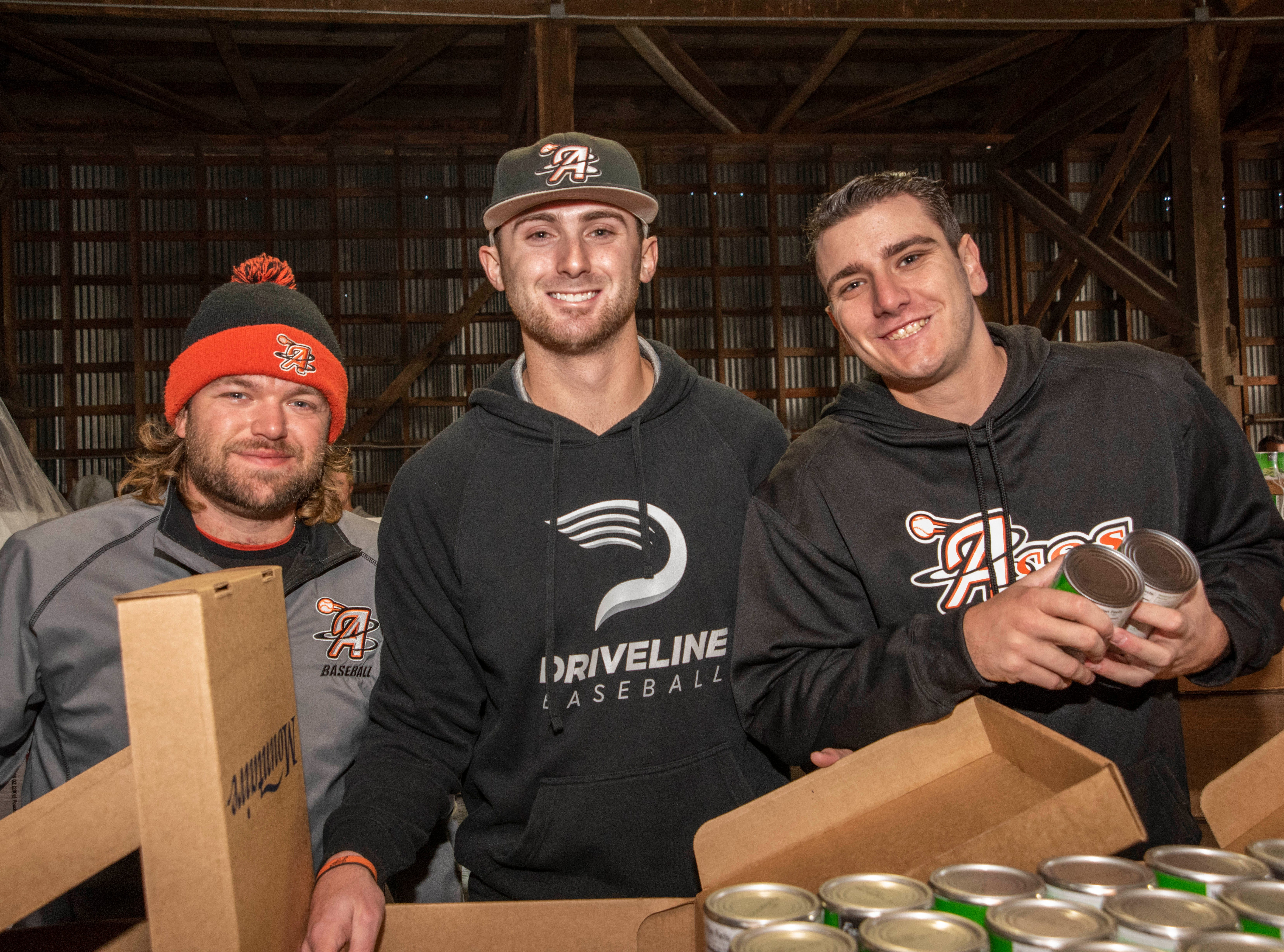 Volunteers from Ocean City turned out to help pack boxes of food for Thanksgivings for Thousands.