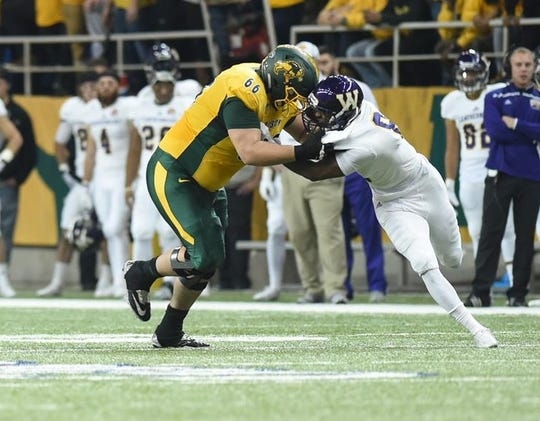 Zack Johnson helped NDSU lead the Valley in rushing