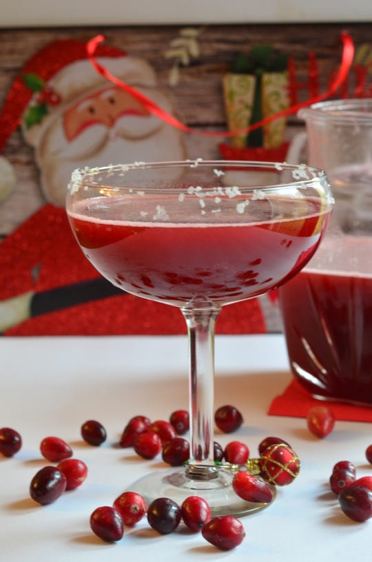 Cranberry margaritas, anyone? This recipe makes a large batch.
