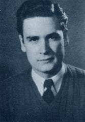 Bob Barker's Drury  yearbook photo from 1947.
