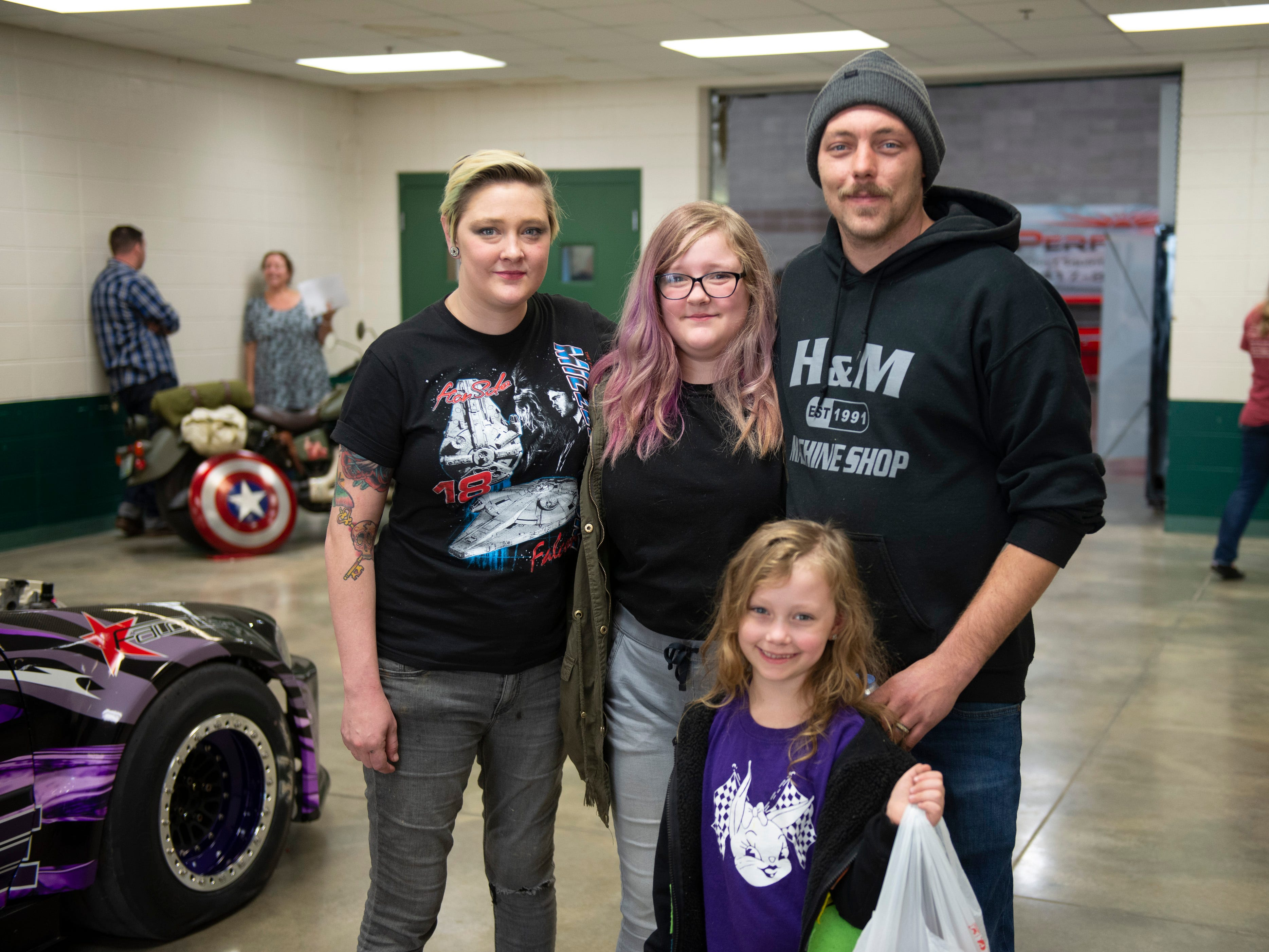 Kenna, Mike, Nanci, and Jaey