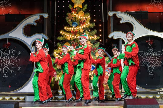The Showboat Branson Belle has special shows for the Christmas season.