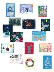 2018 CASA Christmas cards