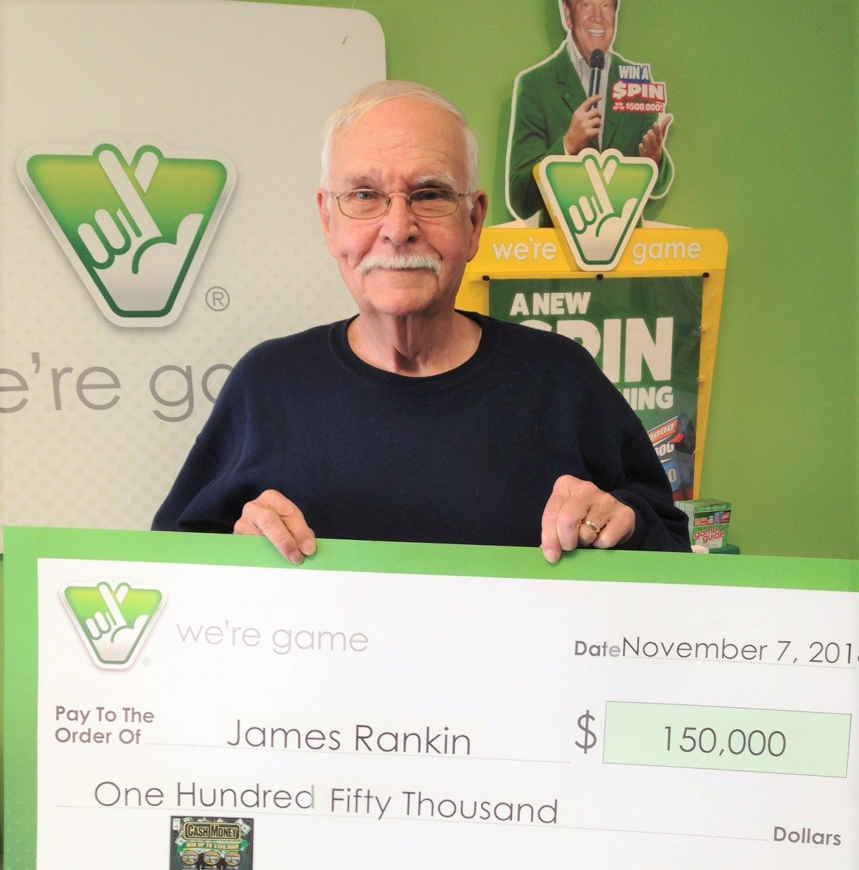 Verona man wins top lottery prize of 150K