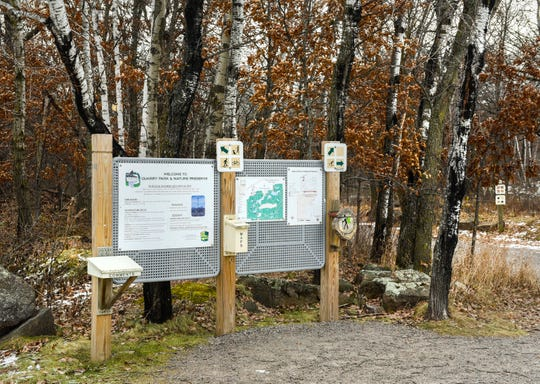 Quarry Park and Nature Preserve shown  Monday, Nov. 19, at 1802 County Road 137, Waite Park.