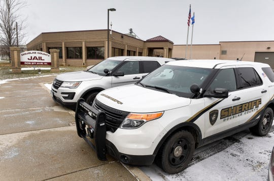 The Douglas County Jail shown Friday, Nov. 16, in Alexandria.