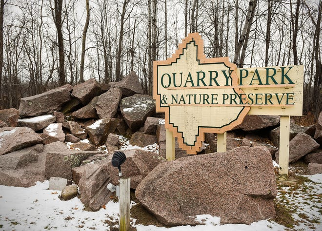 Quarry Park and Nature Preserve shown  Monday, Nov. 19, at 1802 County Road 137, Waite Park.