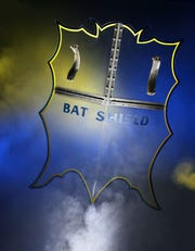 "Bids for the Bat Shield from the TV show ""Batman"" were up to $200,000, but the item is expected to sell for much more."