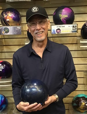Gil Niimi bowled a 692 series, the highest he's ever bowled in Mesquite, last week at the Virgin River Bowling Center.