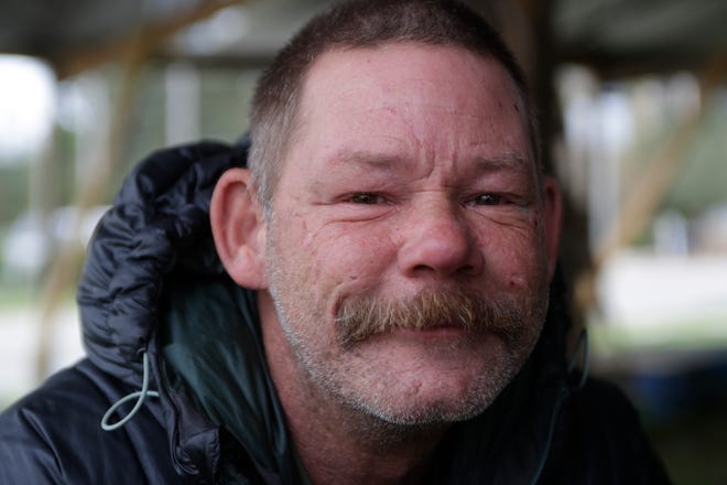 In July, Phil March was struggling to shave his long beard using an outlet outside of the Circle K gas station off Thomasville Road in Tallahassee when a police officer stopped to help him. March is homeless and was shaving his beard so he could get a job at the McDonald's next door. He got the job.