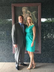 Jack and Michelle Hill of Searcy, Denney, Scarola, Barnhart & Shipley, Attorneys at Law.