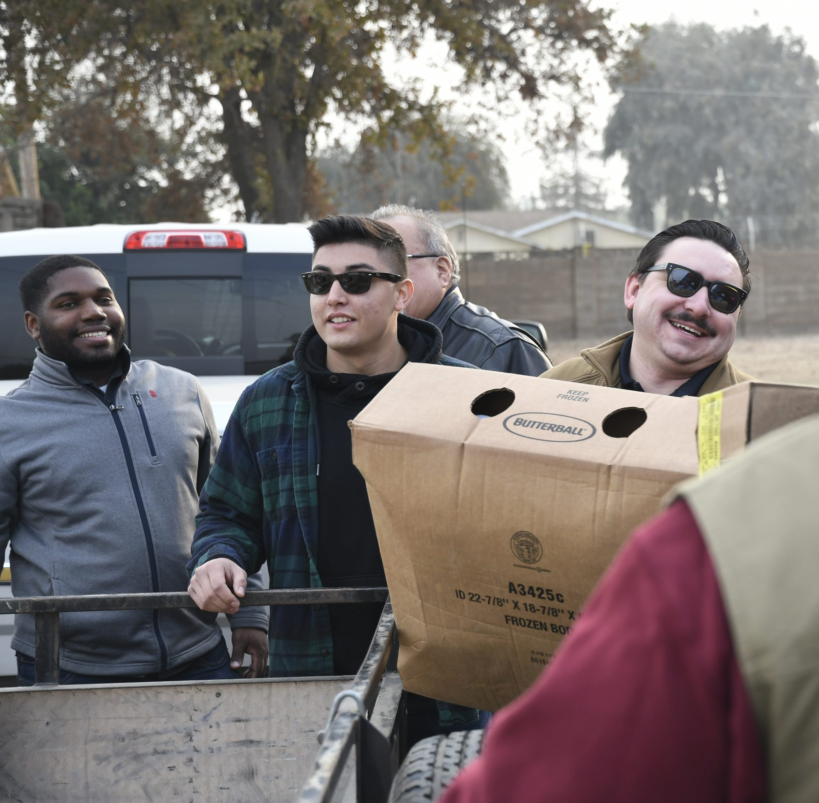 Could you deliver 7 tons of turkeys in four hours? This Visalia club did