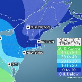 Thanksgiving weather: How frigid it will feel