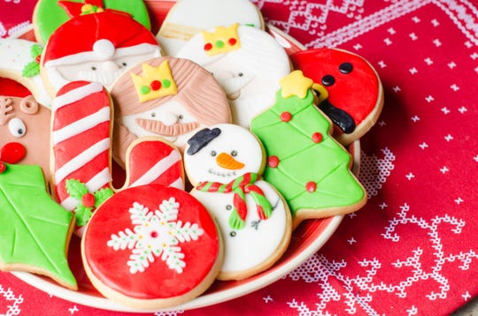 Area churches hold cookie walks where someone else does the baking and decorating.