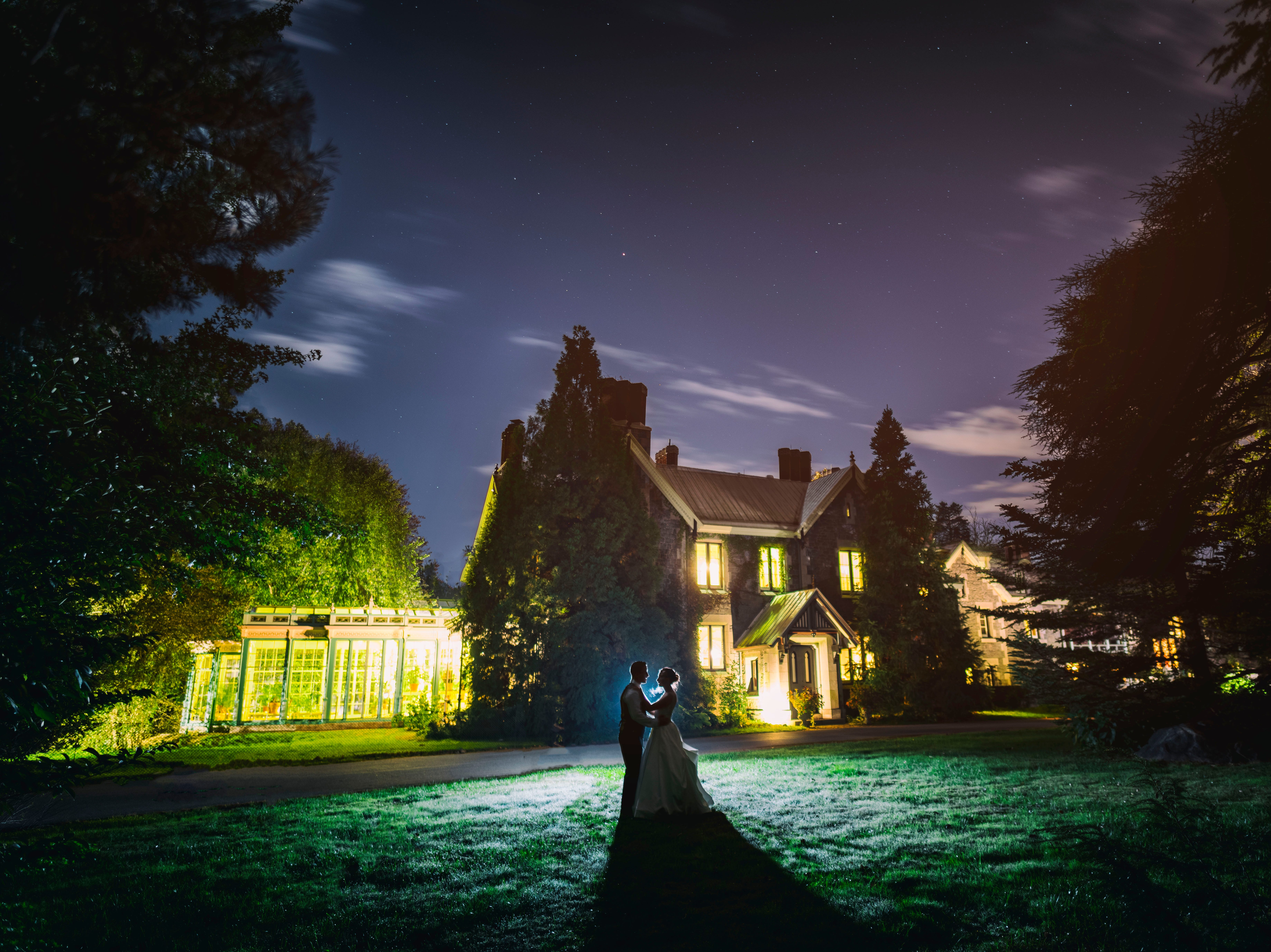 The wedding of Katie and Bryan Hennessy at Rockwood Carriage House & Museum in Wilmington.