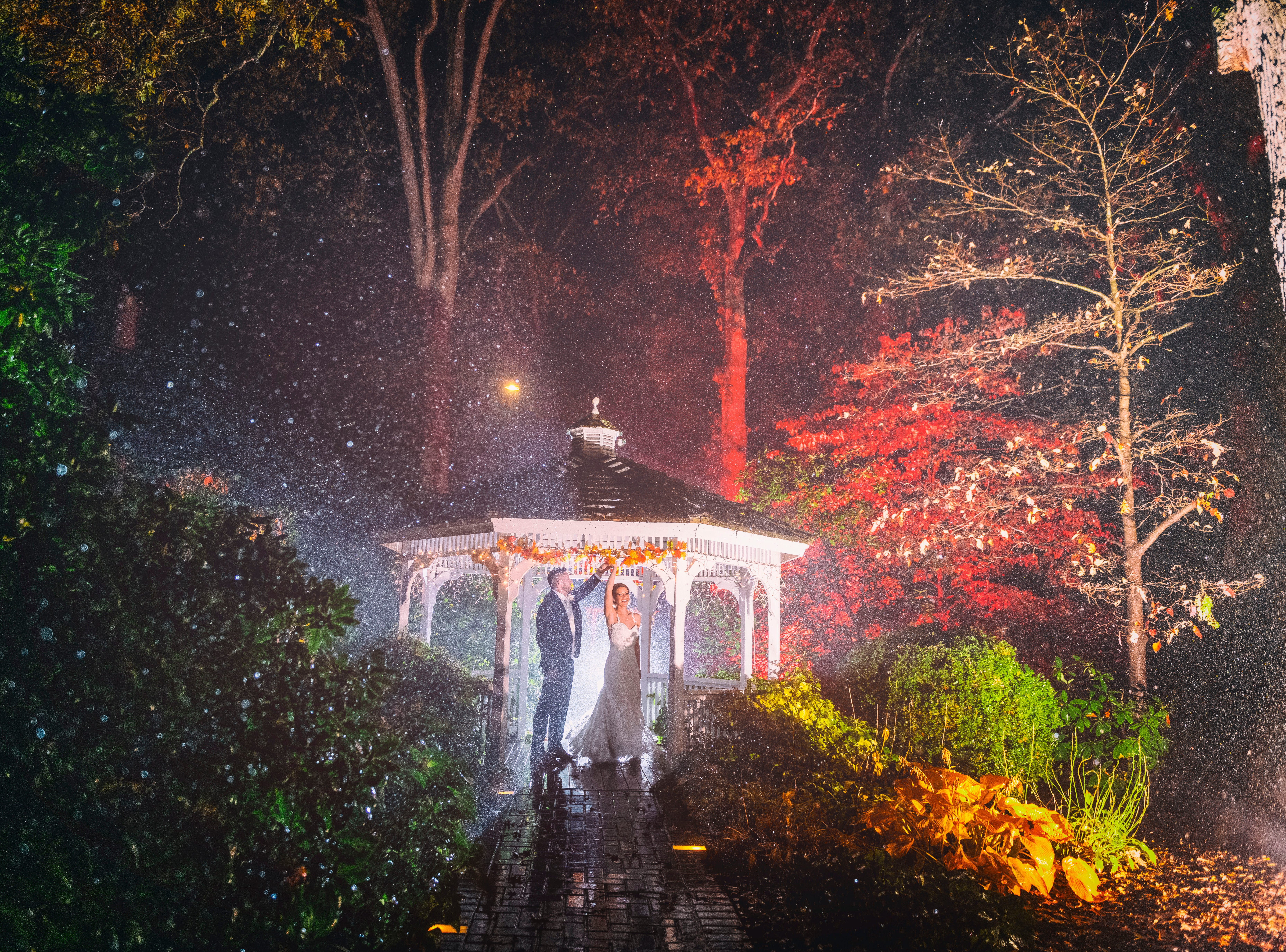 The wedding of Stephanie and Keith Groer at Meredith Manor in Pottstown, Pennsylvania.