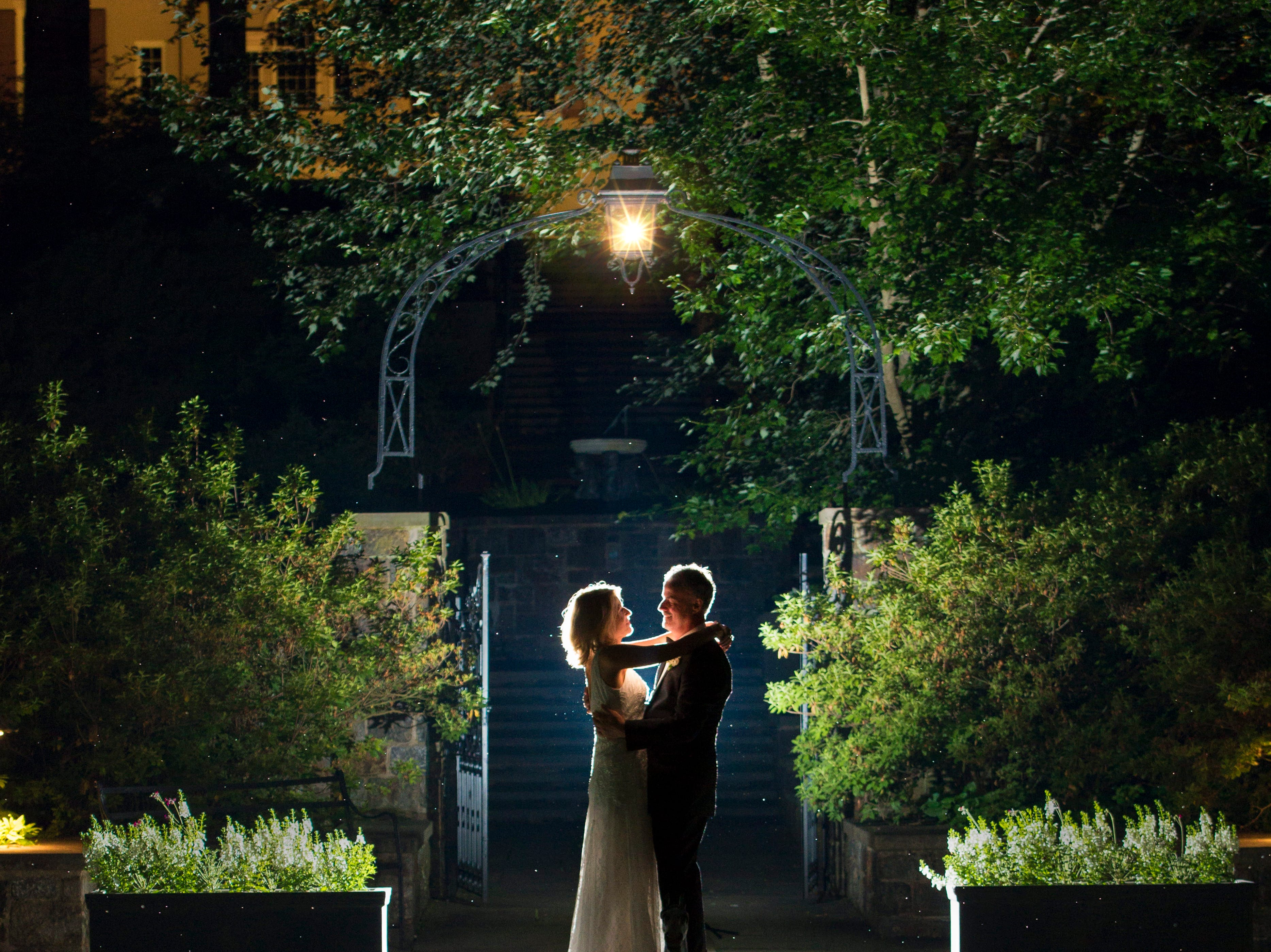 The wedding of Angie and Berk Martin at Winterthur Museum, Gardens and Library in Wilmington.