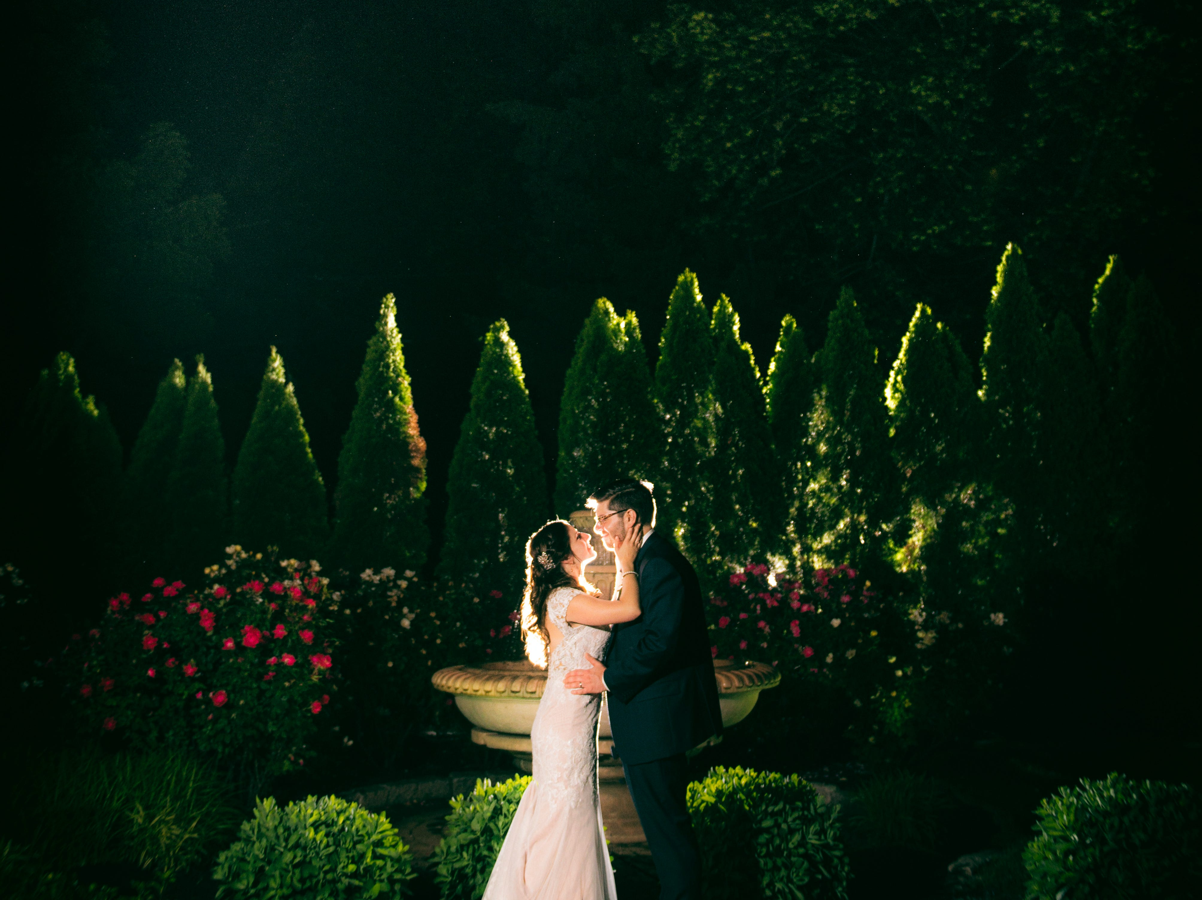 The wedding of Kaitlyn and Chris at The Gables in Chadds Ford, Pennsylvania.