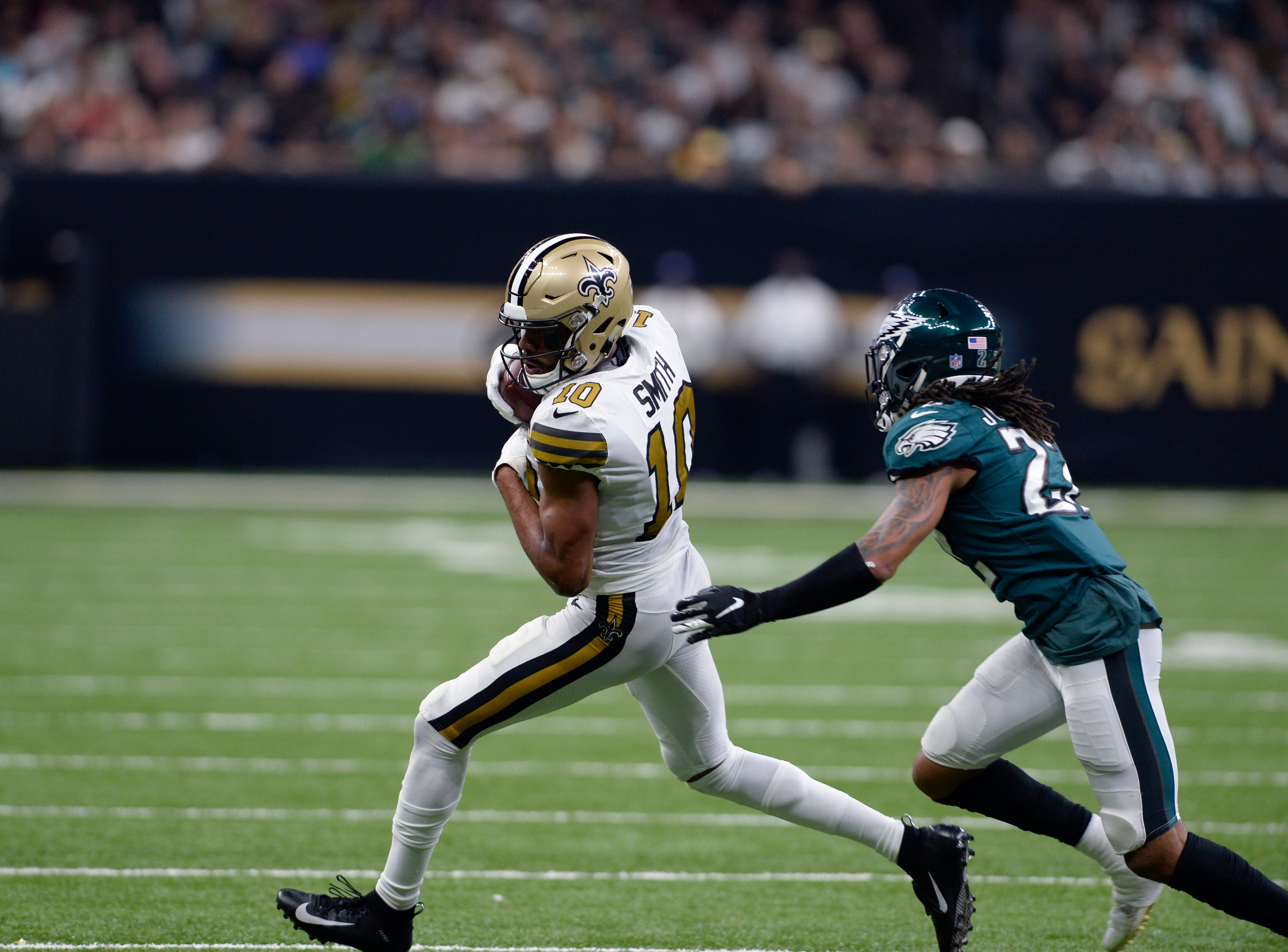 Why the Saints targeted Sidney Jones even before Eagles' injury list grew