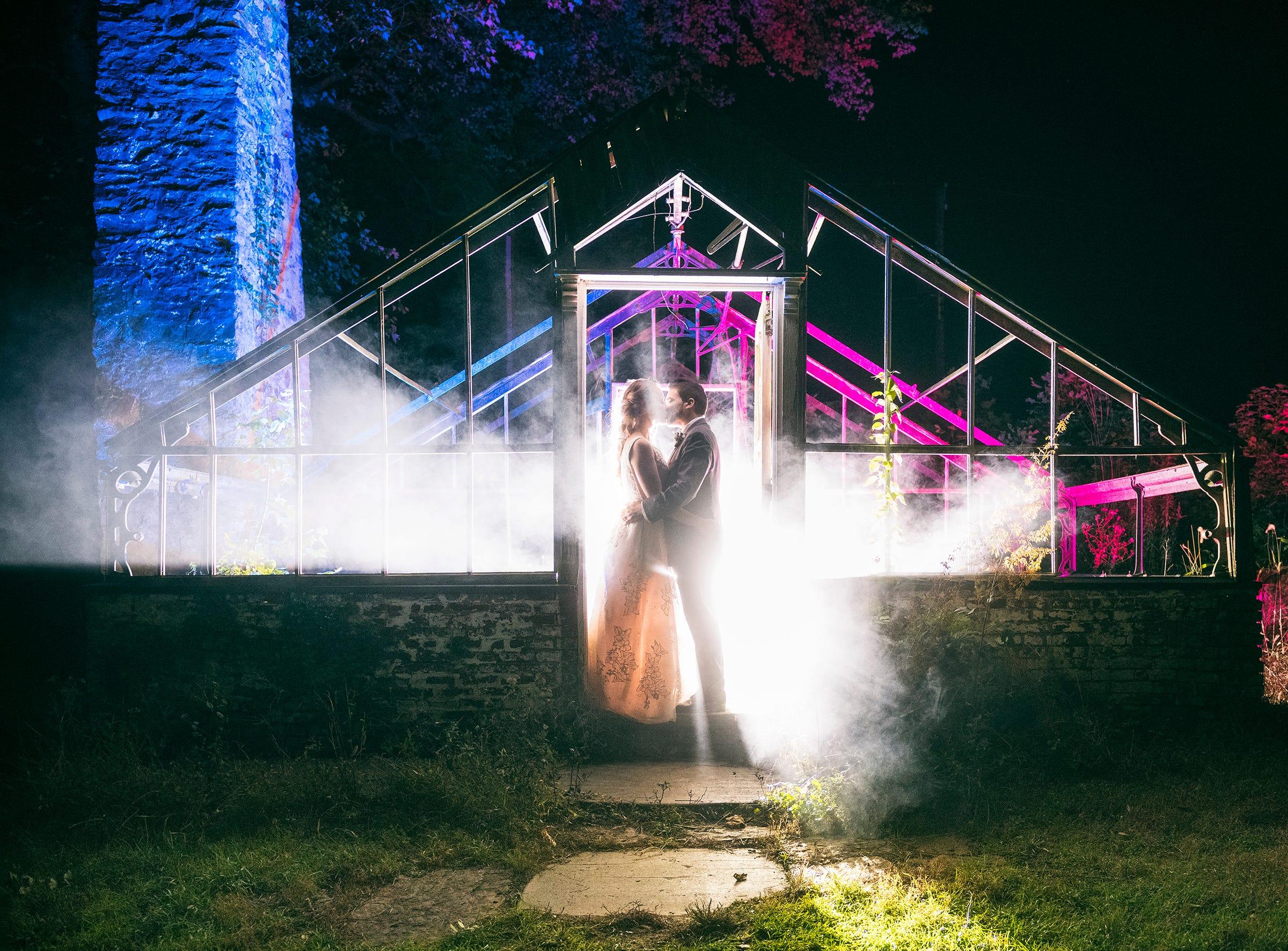 The wedding of Valerie and Kiel Cheesman at Philander Chase Knox Estate at Malvern, Pennsylvania.