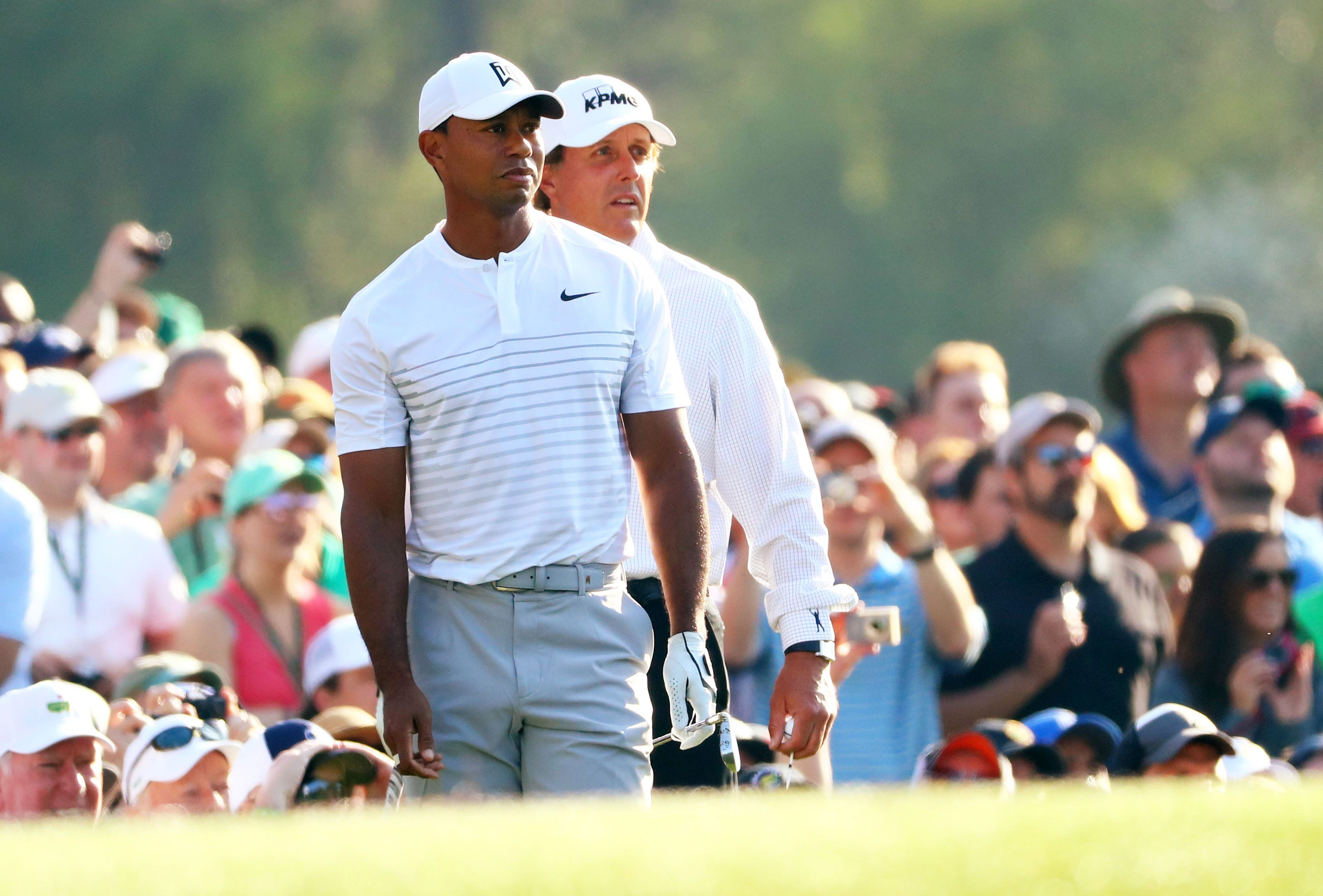 the match  tiger woods vs  phil mickelson will offer big