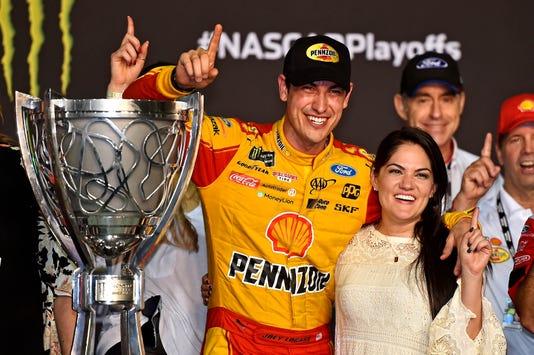 Joey Logano turns bold prediction into NASCAR Cup Series championship