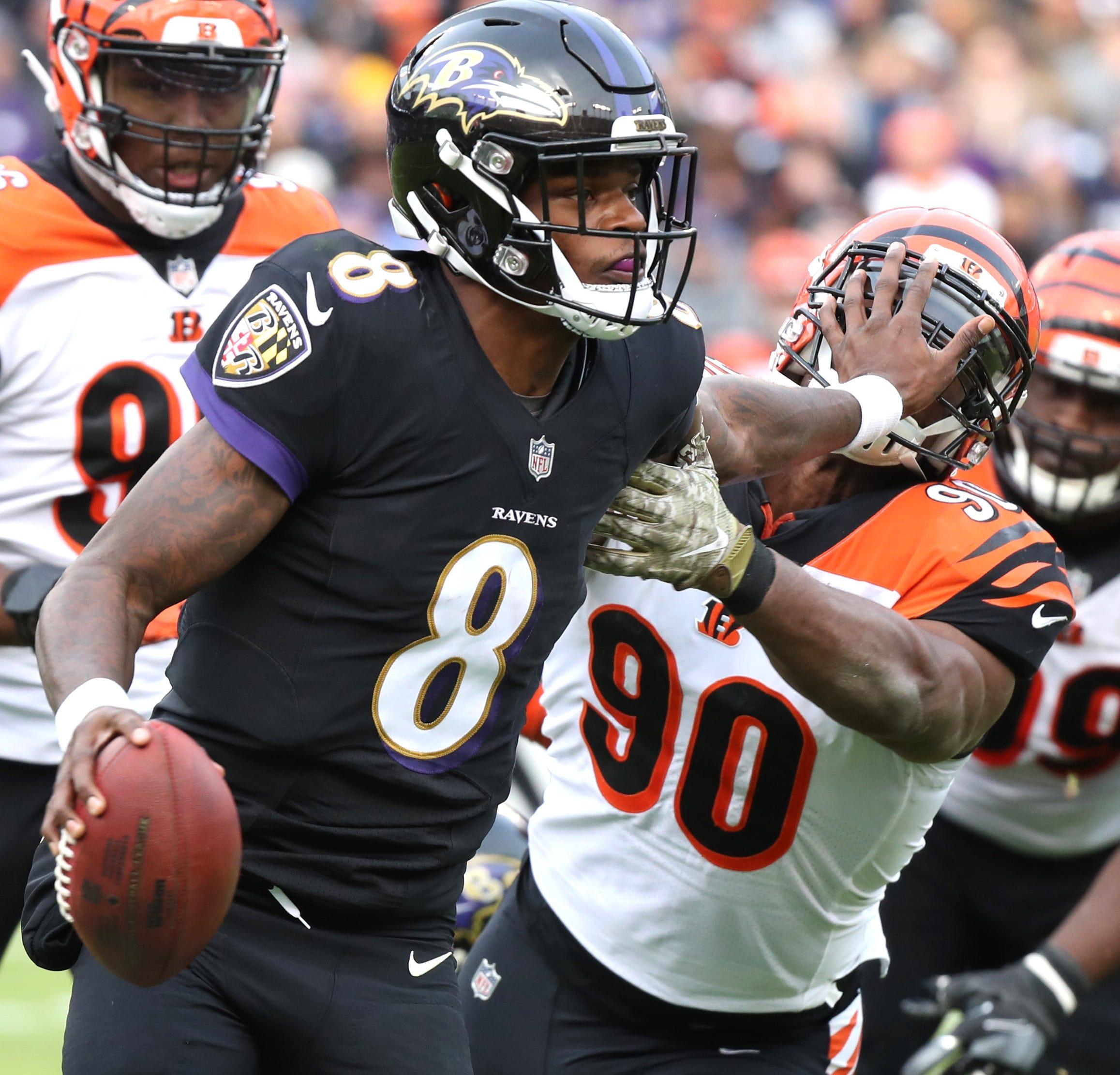 Nfl Cincinnati Bengals At Baltimore Ravens