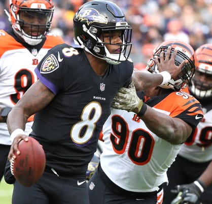 Nfl Cincinnati Bengals At Baltimore Ravens