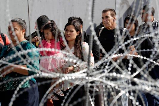 Ap Migrant Caravan A Usa Ca
