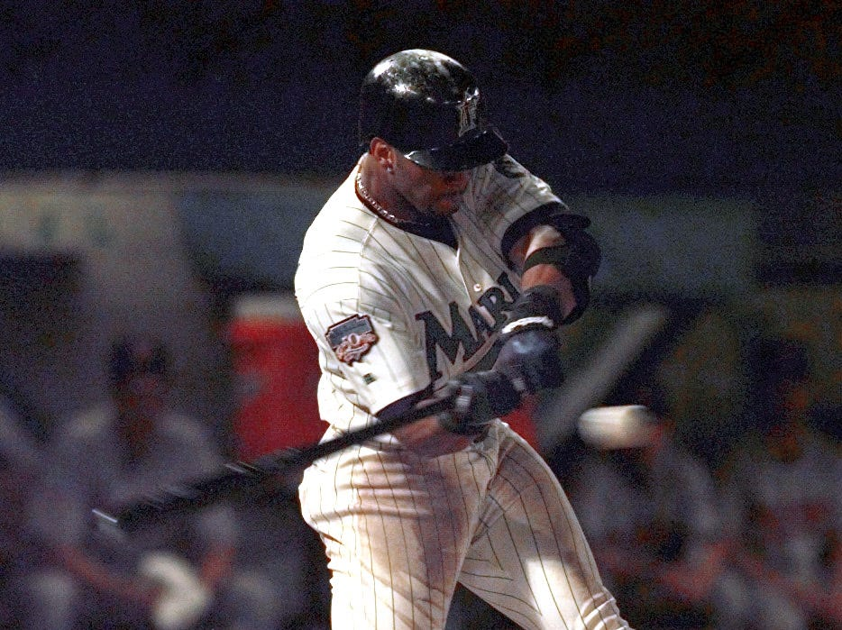 OF Gary Sheffield (5th year)