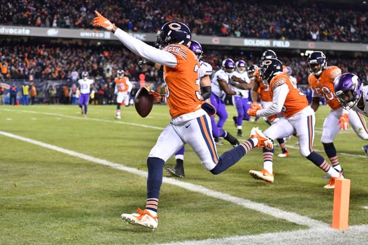 Nfl Minnesota Vikings At Chicago Bears
