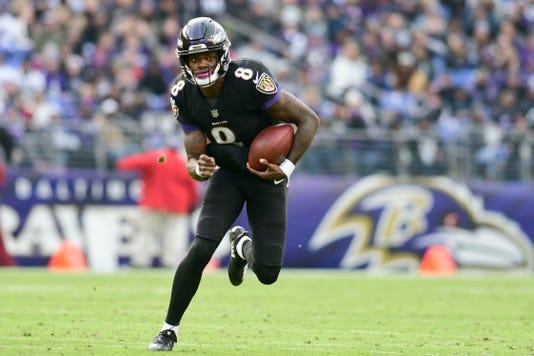 separation shoes 97805 ee120 Ravens' Lamar Jackson gets critique from Bengals coach after win