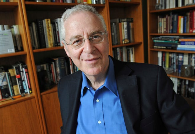 This April 18, 2011, file photo shows author Ron Chernow at his home in the Brooklyn borough of New York.