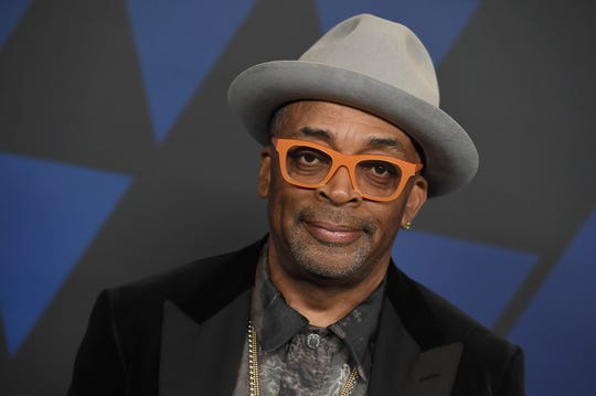 Spike Lee arrives at the Governors Awards on Sunday, Nov. 18, 2018, at the Dolby Theatre in Los Angeles. (Photo by Jordan Strauss/Invision/AP) ORG XMIT: CAPM108