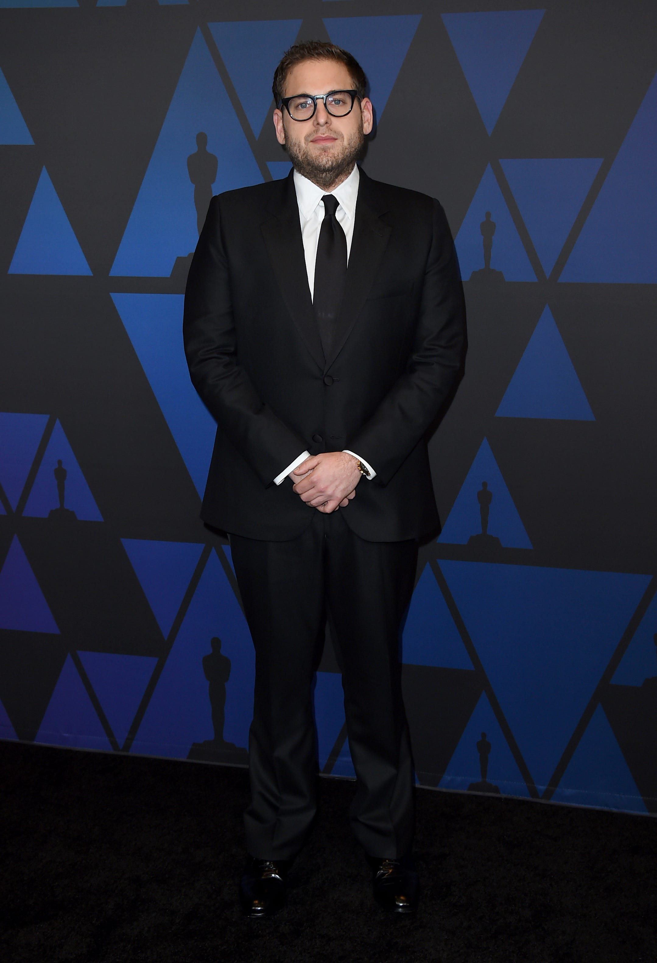 Jonah Hill reflects on  childhood insecurities  after Daily Mail published shirtless photo of actor