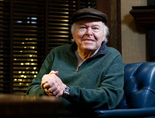 Entertainer Roy Clark photographed in 2016.