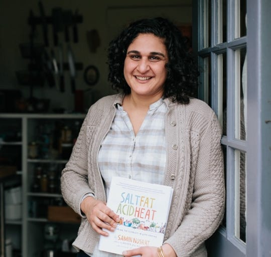 "Samin Nosrat is a chef and award-winning author of the book ""Salt Fat Acid Heat: Mastering the Elements of Good Cooking,"" which now has its own show on Netflix."