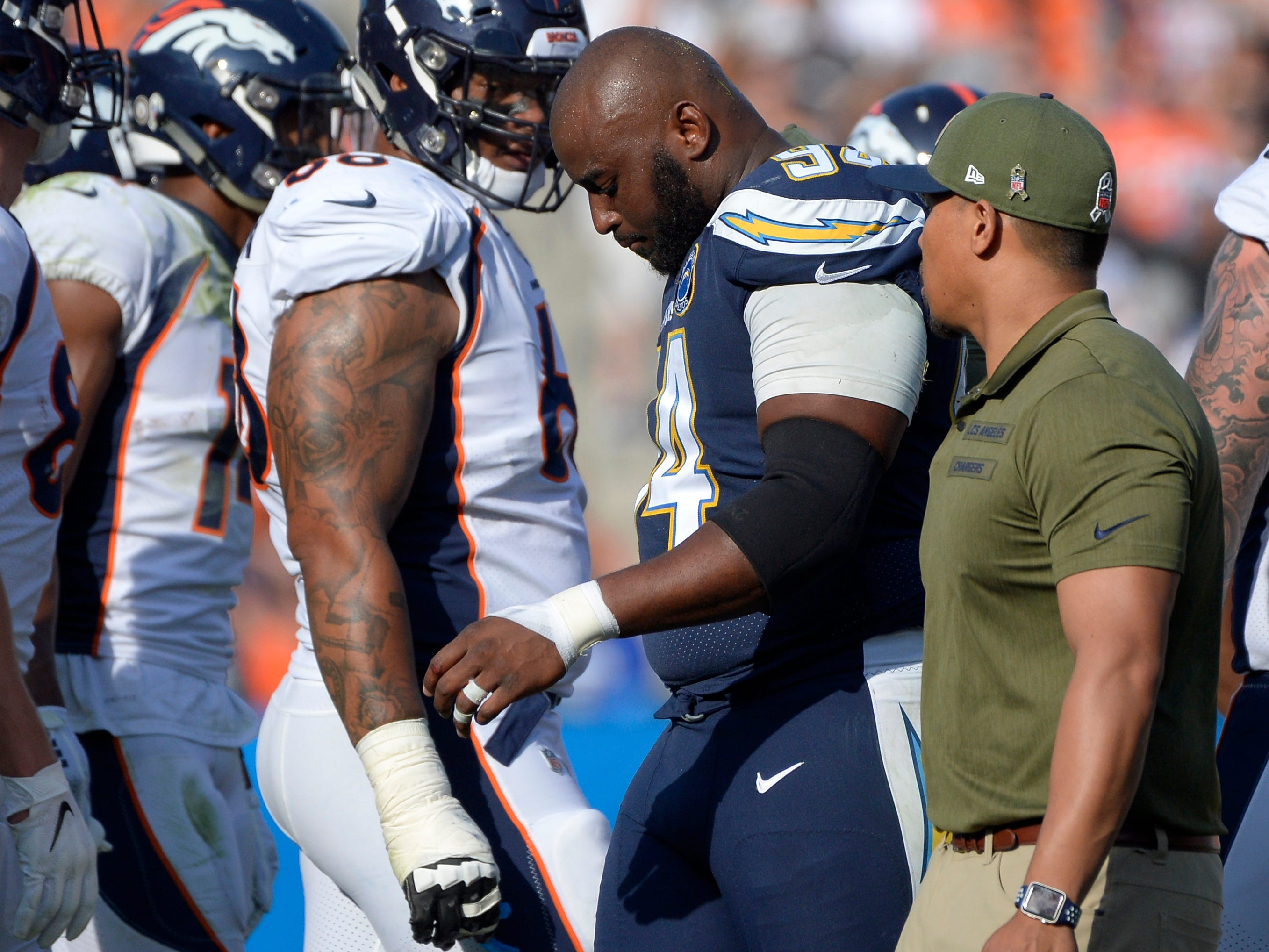 Corey Liuget, DT, Los Angeles Chargers (torn quadriceps, out for season)